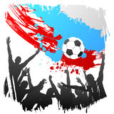 Vector worldcup russia Stock Photo