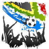 Vector worldcup southafrica Stock Photos