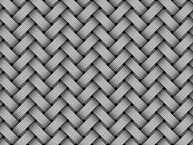 Vector woven fiber seamless pattern Stock Photos