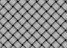 Vector woven fiber seamless pattern Royalty Free Stock Images