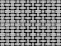 Vector woven fiber seamless pattern. Woven fiber seamless pattern. Vector Illustration Stock Photos
