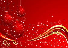Vector xmas background Royalty Free Stock Image