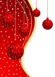 Vector xmas background Royalty Free Stock Photo