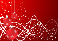 Vector xmas background Royalty Free Stock Photos