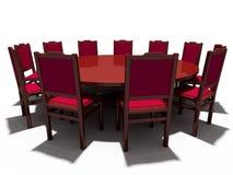 Vector y sillas Fotos de archivo libres de regalías
