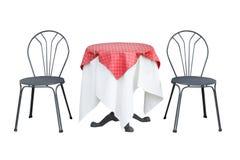 Vector y sillas Foto de archivo
