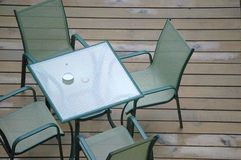 Vector y sillas Fotografía de archivo libre de regalías