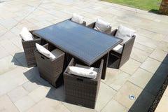 Vector y sillas al aire libre Fotos de archivo libres de regalías