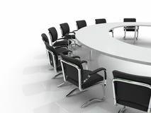 Vector y sillas de conferencia Fotografía de archivo