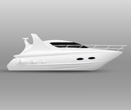 Vector Yachts Stock Images