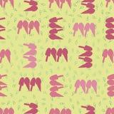 Vector yellow ice cream seamless pattern background. stock illustration
