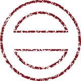 Vector zegel Royalty-vrije Stock Afbeelding