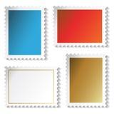 Vector zegelsstickers Royalty-vrije Stock Afbeelding
