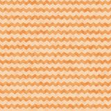 Vector zig zag seamless pattern with rough grunge texture on the beige background Royalty Free Stock Photo