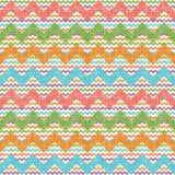Vector zigzag chevron pattern Royalty Free Stock Image