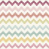 Vector zigzag chevron pattern stock illustration