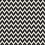 Vector Zigzag Chevron Seamless Pattern. Curved Wavy Zig Zag Line Royalty Free Stock Images