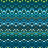 Vector zigzag seamless pattern. Eps10 Stock Image