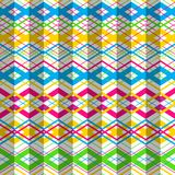 Vector zigzag seamless pattern Royalty Free Stock Photos