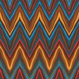 Vector zigzag vintage seamless pattern Stock Photography