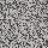 Vector zilveren abstract retro uitstekend pixelmozaïek Stock Foto