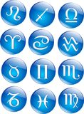 Vector zodiac icons Stock Photo