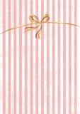 Vector zoete gestripte achtergrond. Wit en roze. Leuk behang Royalty-vrije Stock Afbeelding