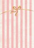 Vector zoete gestripte achtergrond. Wit en roze. Leuk behang Royalty-vrije Stock Foto's