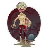 Vector Zombie Bro Royalty Free Stock Photos