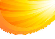 Vector zonnige achtergrond stock illustratie