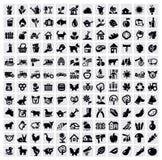 Landbouw pictogram Royalty-vrije Stock Afbeelding