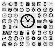 Het pictogram van klokken Royalty-vrije Stock Fotografie