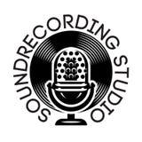 Vector zwart-wit malplaatje voor ontwerp op een muzikaal thema met microfoon en vinyl royalty-vrije illustratie