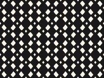 Vector zwart-wit netwerk, geometrisch naadloos patroon Royalty-vrije Stock Afbeeldingen