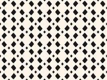 Vector zwart-wit netwerk, geometrisch naadloos patroon Royalty-vrije Stock Foto