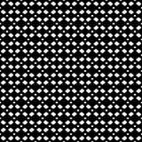 Vector zwart-wit netwerk, geometrisch naadloos patroon, zwarte & whit Royalty-vrije Stock Foto's
