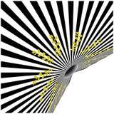 Vector zwart-wit ontwerp Stock Fotografie