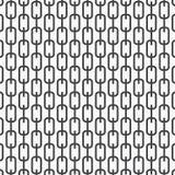Vector zwart-wit patroon, abstracte kettings zwarte lijnen op witte achtergrond, subtiele verticale kettingen Ontwerpelement voor Stock Fotografie