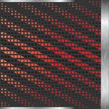 Vector Zwarte en Rode Achtergrond vector illustratie