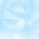 Vectorachtergrond in blauw met ruimte voor uw tekst Royalty-vrije Stock Foto's