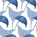 Vectorachtergrond met hellingen Naadloos patroon stock illustratie
