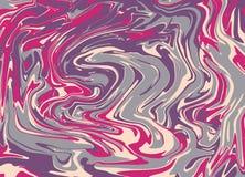 Vectorachtergrond met vloeibare inkt, hand getrokken marmerende illustratie, marmeren textuur, stock foto