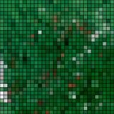 Vectorachtergrond van multi-colored vierkanten Stock Foto's