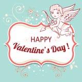Vectorachtergrond voor Valentijnskaartendag Royalty-vrije Stock Fotografie