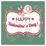 Vectorachtergrond voor Valentijnskaartendag Royalty-vrije Stock Foto