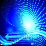 Vectorachtergronden - Technologieën, Internet, Computer Royalty-vrije Stock Afbeeldingen