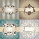Vectorachtergronden voor ontwerp Royalty-vrije Stock Foto's