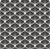 Vectorart deco naadloos patroon Geometrische Bloemen decoratieve textuur Stock Foto's