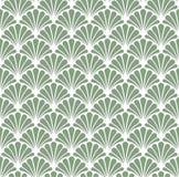 Vectorart deco naadloos patroon Geometrische Bloemen decoratieve textuur Stock Fotografie