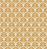 Vectorart deco naadloos patroon Geometrische Bloemen decoratieve textuur Royalty-vrije Stock Fotografie